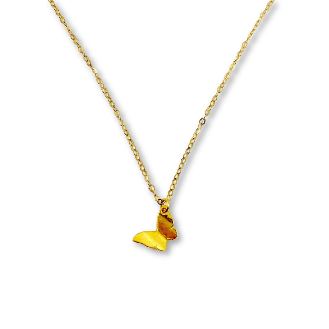 Gold Butterfly Necklace - AR TodayCharm Jewelry Company