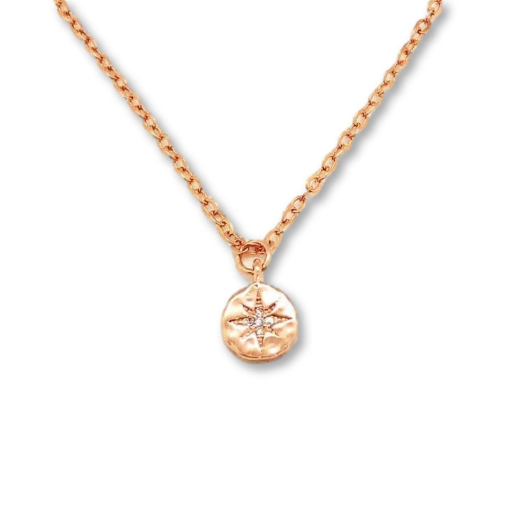 North Star Compass Necklace - AR TodayCharm Jewelry Company