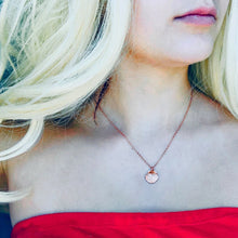 Load image into Gallery viewer, Rose Gold Mermaid Maurea Necklace - AR TodayCharm Jewelry Company