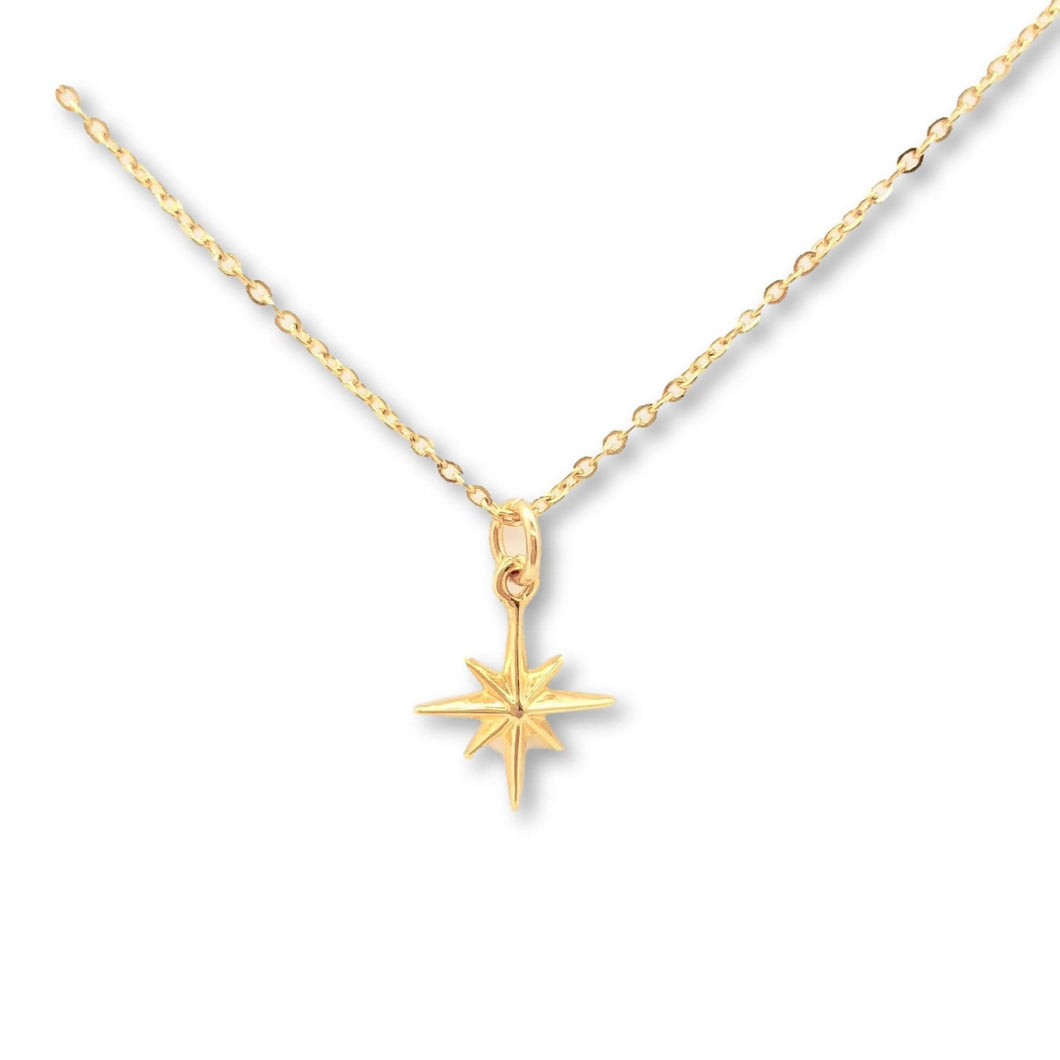 Gold North Star Necklace - AR TodayCharm Jewelry Company