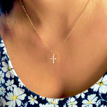 Load image into Gallery viewer, Paisley Cross Necklace - AR TodayCharm Jewelry Company