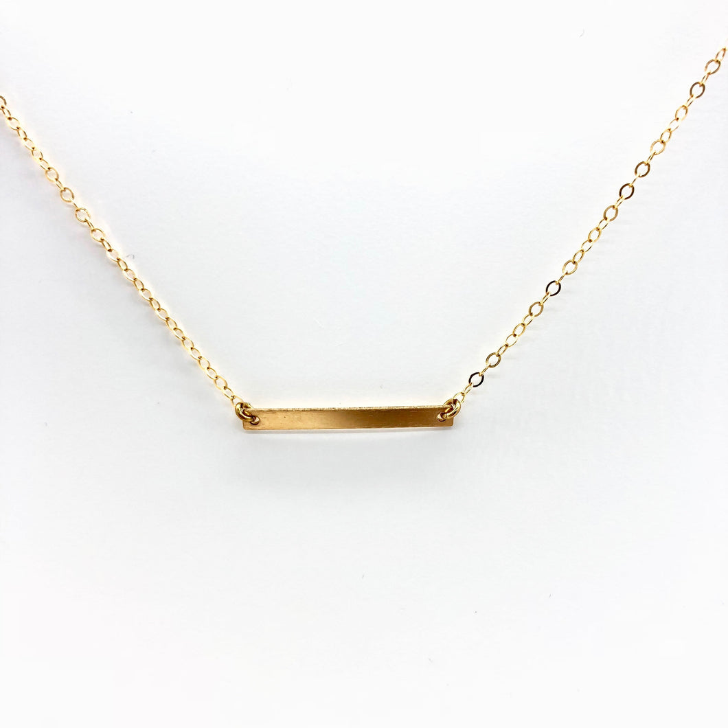 Noelle Bar Necklace - AR TodayCharm Jewelry Company