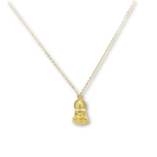 Gold Buddha Necklace - AR TodayCharm Jewelry Company