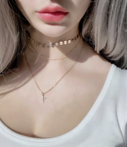 Triple Threat Gold Layered Necklaces - AR TodayCharm Jewelry Company