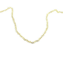 Load image into Gallery viewer, Interlocked Gold Heart Chain Necklace