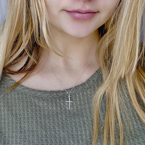 Silver Cross Necklace - AR TodayCharm Jewelry Company