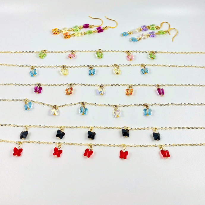 Custom Butterfly Choker Necklace - AR TodayCharm Jewelry Company