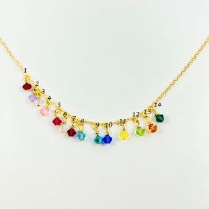 Rainbow Cristal Choker Necklace - AR TodayCharm Jewelry Company