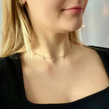 Load image into Gallery viewer, Daia Triangle Necklace - AR TodayCharm Jewelry Company