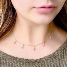 Load image into Gallery viewer, Alexandrite Cristal Choker Necklace - AR TodayCharm Jewelry Company