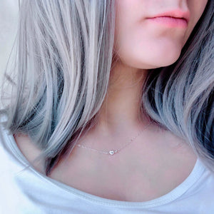 Lucia Silver Necklace - AR TodayCharm Jewelry Company