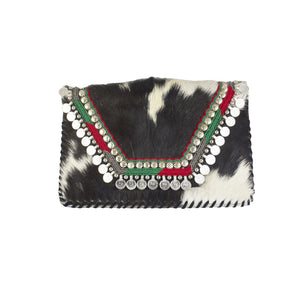 Onyx Coin Clutch