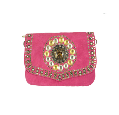 Billie Studded Clutch