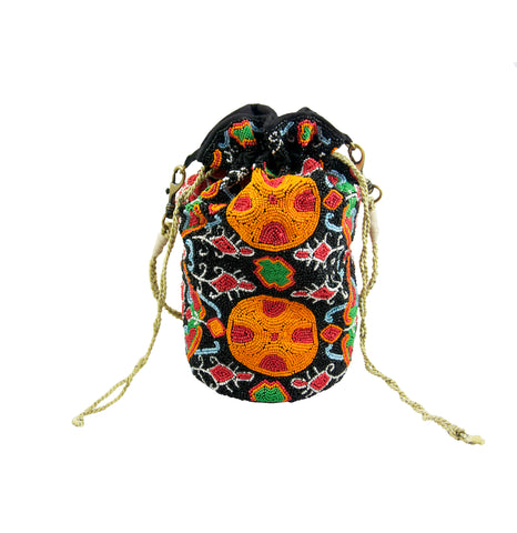 Patsy Beaded Drawstring Bag