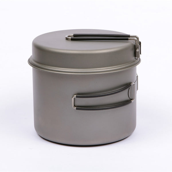 Machined Camping Pots - Titaner