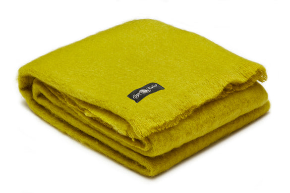 Mohair Blanket (Assorted Colours) - Gift Tree