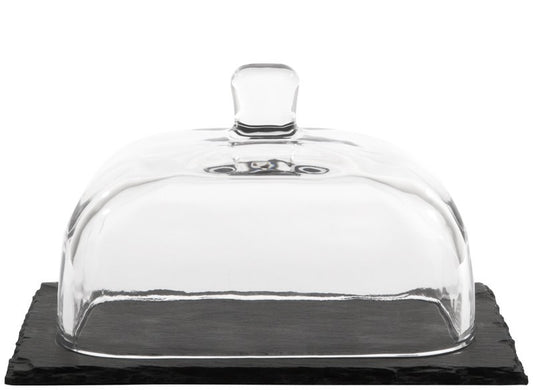 Butter Dish with Slate Board - Gift Tree