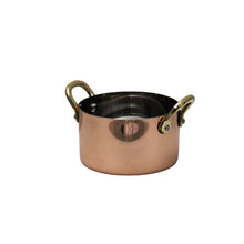 Round Copper Bowl - Gift Tree