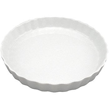 White Basics Quiche Dish - Gift Tree