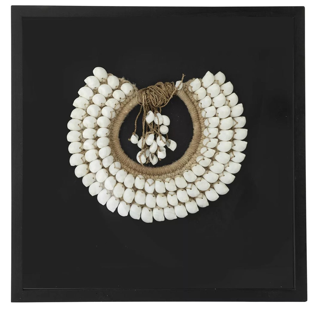 Framed Shell Necklace - Gift Tree