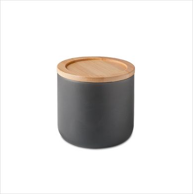 Stoneware Canister - Charcoal
