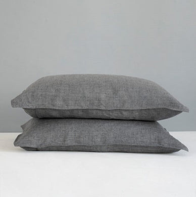 Melange Kamma Linen Pillowcase