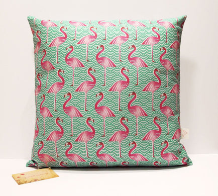 Pink Flamingo Cushion Cover - Gift Tree