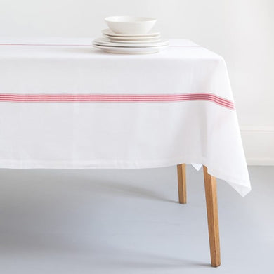Provincial Stripe Tablecloth - Gift Tree
