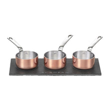 Maitre D Copper Mini Saucepot Set - Gift Tree