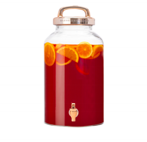 Refresh Copper Beverage Dispenser