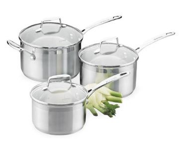 Impact 3pc Saucepan Set