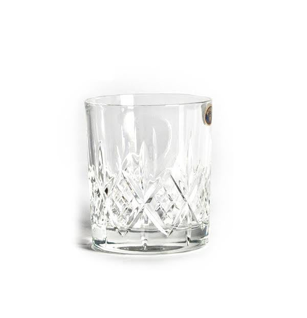 Crystal Whiskey Glass Set - Gift Tree