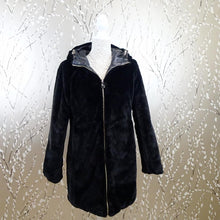 Black Reversible Padded Coat