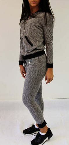 Black And Grey Tracksuit