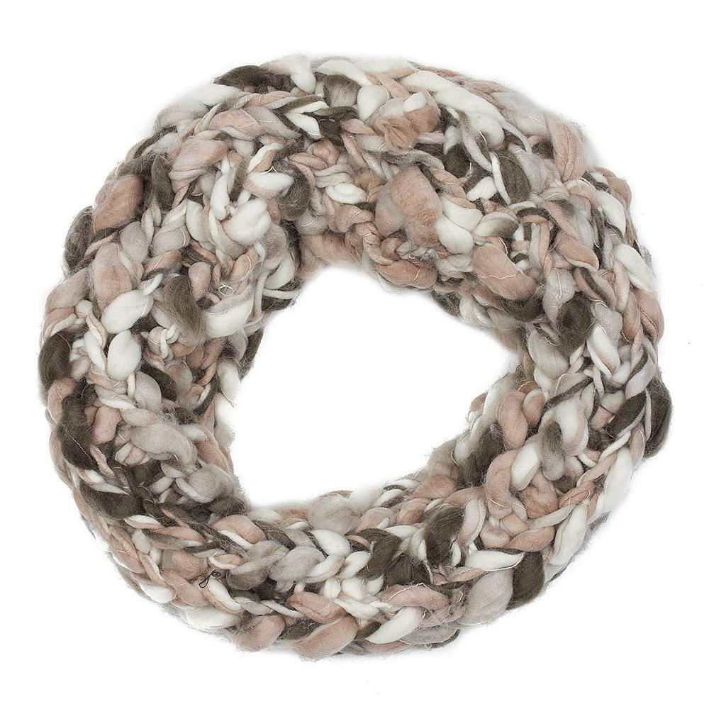 Multi Coloured Neutral Snood