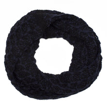 Navy Knitted Snood
