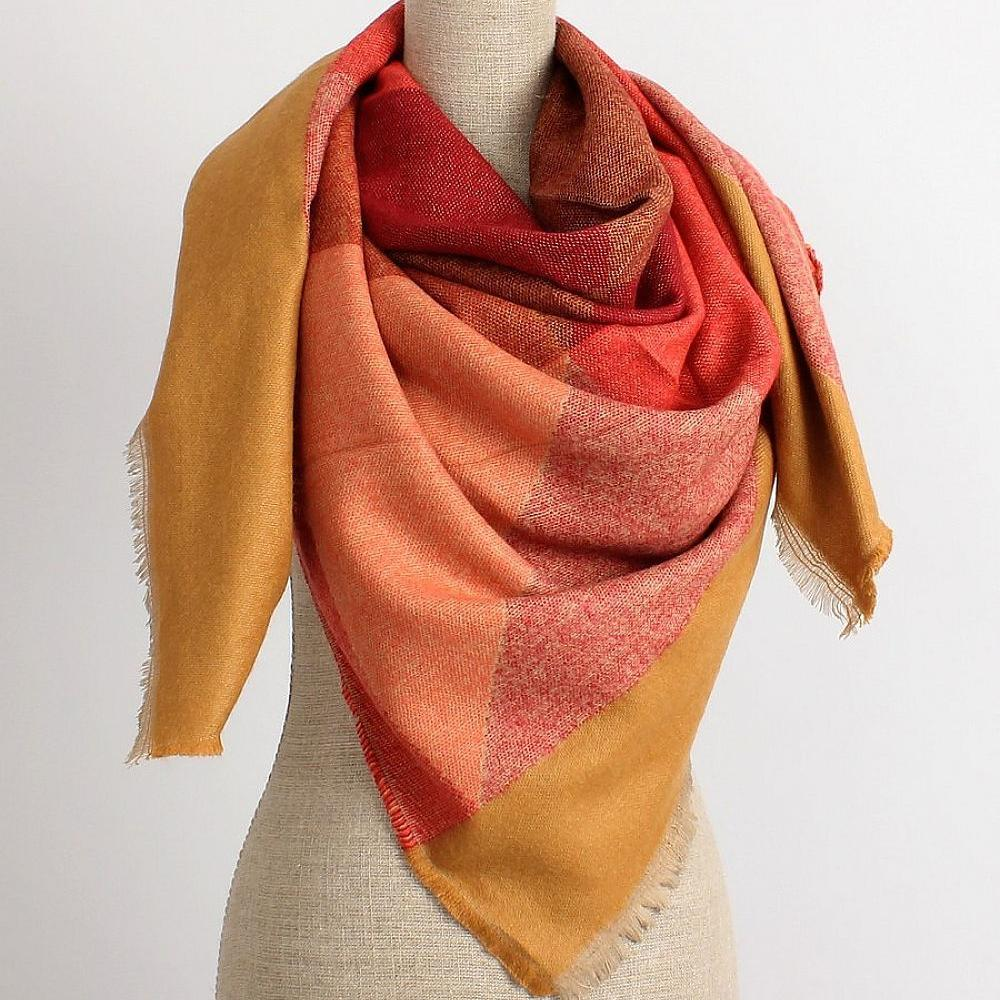 Orange and Yellow Scarf