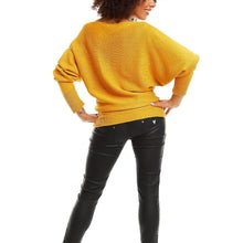 Mustard Baggy Sweater