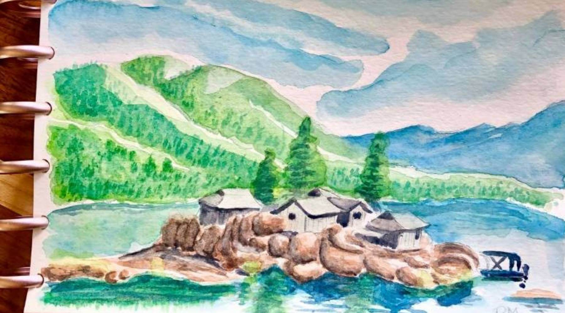 Come Paint with us in Big Bear Lake
