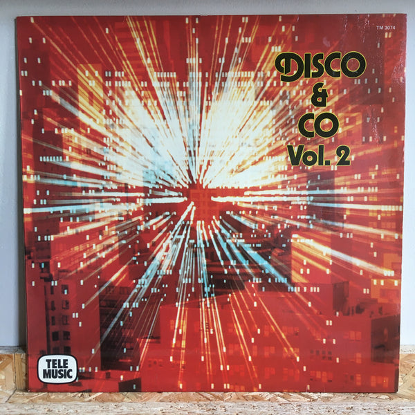 M.Chantereau/P.A.Dahan/S. Pezin ‎– Disco & Co Vol. 2