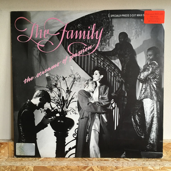 The Family ‎– The Screams Of Passion