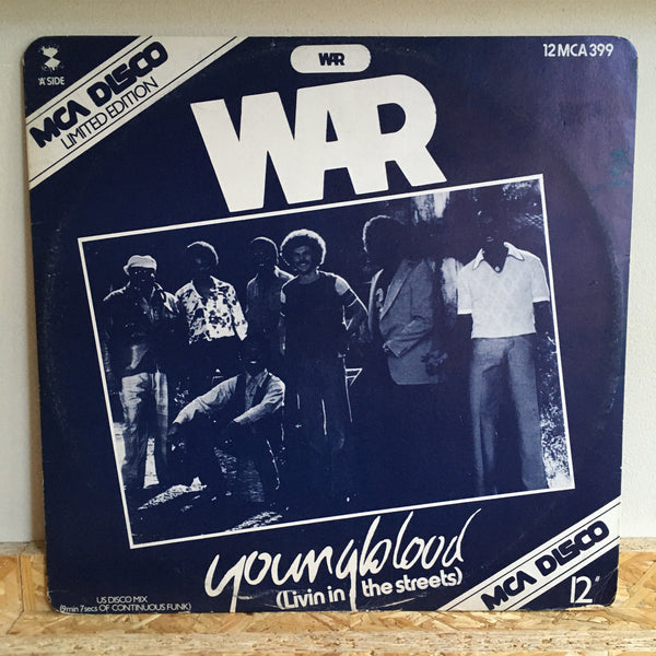 War ‎– Youngblood ( Livin' In The Streets )