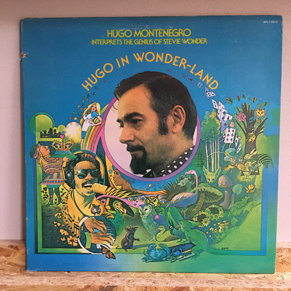 Hugo Montenegro ‎– Hugo In Wonder-Land