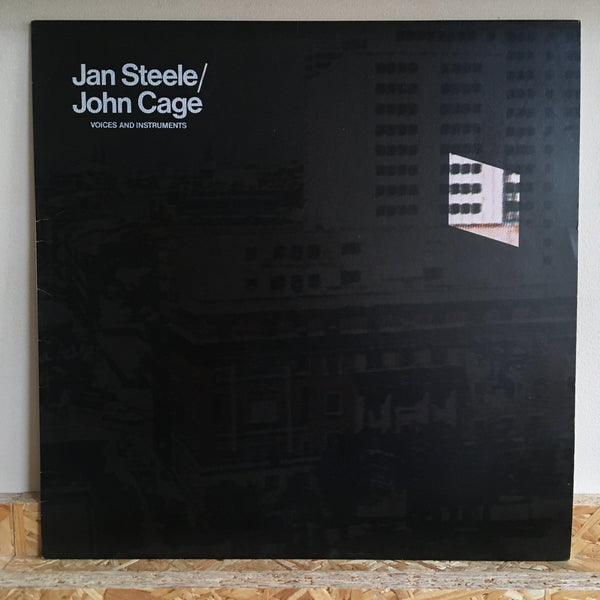 Jan Steele / John Cage ‎– Voices And Instruments