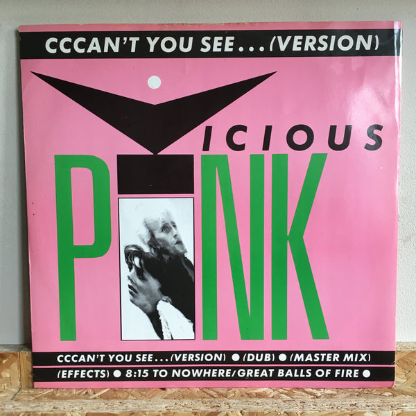 Vicious Pink ‎– Cccan't You See...( Version )