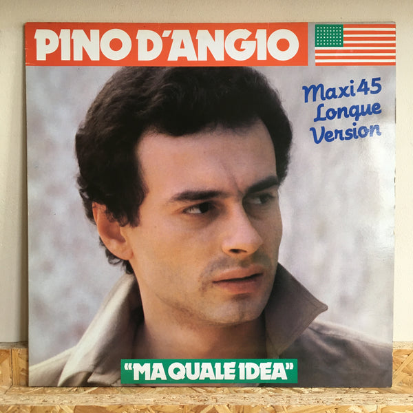 "Pino D'Angio' ‎– Ma Quale Idea 12"" *FR PRESS"