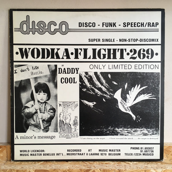 Daddy Cool ‎– Take One / Wodka Flight 269