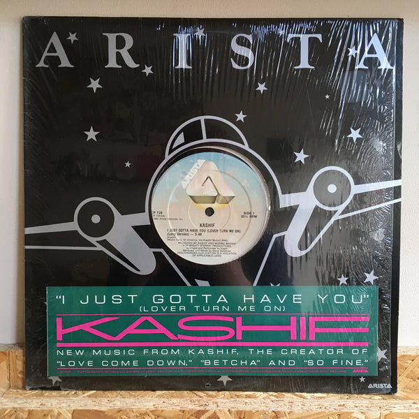 Kashif ‎– I Just Gotta Have You ( Lover Turn Me On )