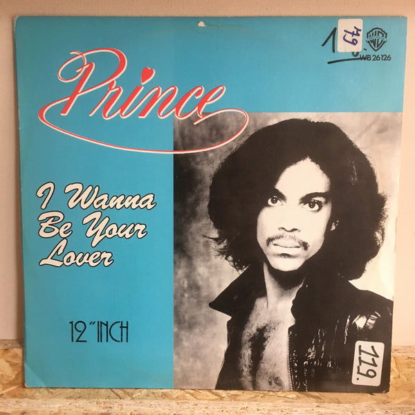 Prince ‎– I Wanna Be Your Lover