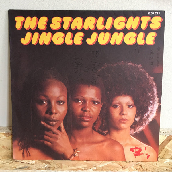 The Starlights ‎– Jingle Jungle / Mao Mao
